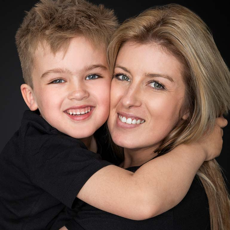 Family-Photography-Studio-Mum and son
