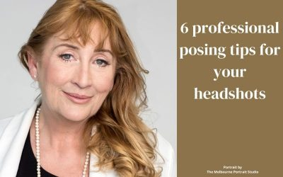 6 professional posing tips for your headshots
