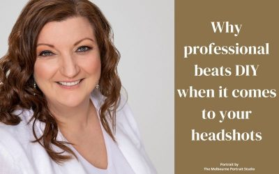 Why professional beats DIY for your headshots
