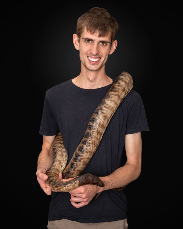 Male Personal Branding Snake Reptile Photos